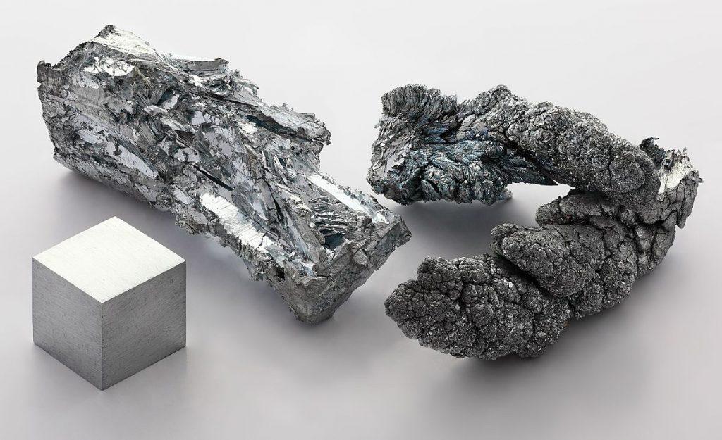 élément zinc fragment pierre