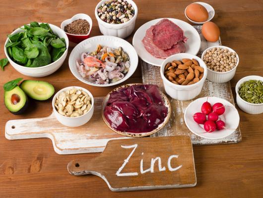 aliments contenant naturellement du zinc