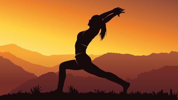 ombre méditation yoga