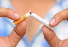 cigarette coupé en deux